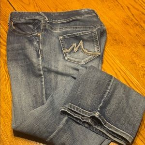 Maurices jeans, size 16, VGUC